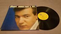 Bobby Darin That's All Mono 1st Edition Harp Label LP VG/VG Ultrasonic Clean