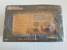 Solar Crank CR1009 NOAA Emergency Weather Alert Radio & AM/FM/SW Broadcast - NEW