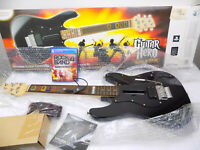 Like New Playstation 4 Ps4 Logitech Real Wooden Guitar Hero Rock Band 4 Bundle