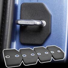 4pcs Door Lock Cover Waterproof Cap For Volvo XC90 2015-2018 V40 13-18 Black