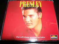 Elvis Presley All Time Greatest Hits Best of Early Print Australia 2 CD Like New