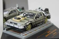 BACK TO THE FUTURE 3 DELOREAN RAILROAD VERSION 1/43 MODEL CAR BY VITESSE 24014