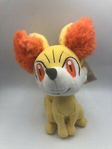 Official Tomy Pokemon XY Fennekin Nintendo 2013 Fox Plush Stuffed Toy Animal