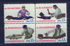 ESTADOS UNIDOS/USA 1977 MNH SC.1717/1720 Skilled Hands for Independence