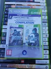 Jeux Xbox 360 Tom Clancy's Ghost Recon 1 et 2 Future Soldier A W Neuf