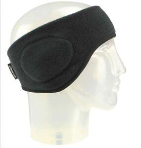 Adult SEIRUS Neofleece Headband BLACK Windproof Ear Warmer Moisture Wicking 2660