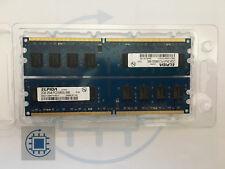 4GB (2x 2GB ) DDR2 6400U 666 800MHz Arbeitsspeicher Elpida Desktop RAM