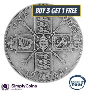 1920 TO 1936 GEORGE V - TWO SHILLING/ FLORIN - SILVER - CHOICE OF YEAR/DATE