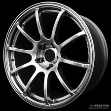 "18"" Rota G-Force Wheels & Tyre Toyota Honda Mazda Subaru WRX VW Audi Nissan"
