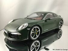 GT Spirit Porsche 911 (991) Carrera S Club Coupe Brewster Green 1/18 New