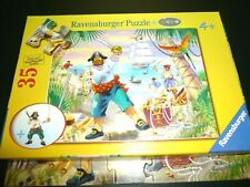 """Ravensburger Pirate Adventure Jigsaw Puzzle 35 Piece No Figure included 13 x 10"""""""