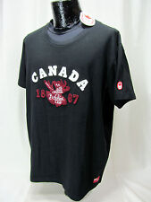 NWT Hudson Bay Co HBC. Canada Olympic  Black Men's XL Cotton Tee Shirt