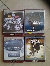 4281 // LOT 4 HD DVD 2 FAST 2 FURIOUS + MIAMI VICE + LA MORT DANS LA PEAU EN TBE