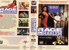 A RAGE IN HARLEM - Gregory Hines - VHS-PAL-NEW-Never played!-Original Oz release