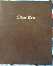 Dansco Album # 7085 for Horizontal Silver Bars, 2 pages.      Beautiful