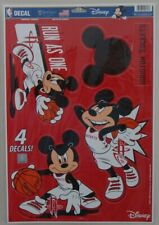 ALABAMA CRIMSON TIDE LET/'S GO TIDE MICKEY MOUSE LAPTOP MULTI USE REUSABLE DECALS