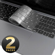 [2-Pack] i-Blason Keyboard Cover For MacBook Air 13 Inch Silicone Skin Protector