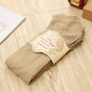Women Warm Thick Chunky Knitted Leggings Japanese Lolita Girl School Tight Pants
