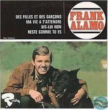 FRANK ALAMO DES FILLES ET DES GARCONS CD SINGLE EP 4T no vinyl