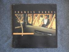 """RARE LP / 33T FRANCIS CABREL """"PHOTOS DE VOYAGES"""" 1RST FRENCH CBS 1985"""