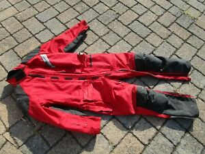 Red Roadcrafter One Piece Suit Aerostich Suit 44 S