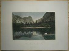1872 Bryant print MIRROR LAKE, YOSEMITE VALLEY (#18)