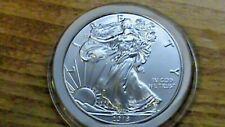 2018~BU~American Silver Eagle Dollar~1 Troy OZ. .999 Fine Silver
