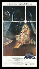 STAR WARS ✯ CineMasterpieces 3SH ORIGINAL MOVIE POSTER C9-C10 NM-MINT 1977