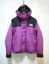 Vintage The North Face Purple Mountain Jacket Medium M Hood Clips OG Gore Tex LO
