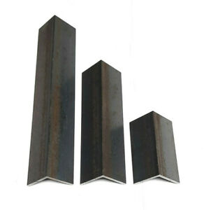 Mild Steel Equal Angle Grade S275 Angle Iron Bar 13mm - 50mm Sizes 100mm -1000mm