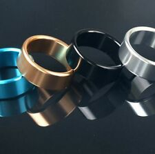 Alloy Metallic Metal C-ring Penis Ring 40/45/50mm Black / Blue NEW !!! 3 Sizes