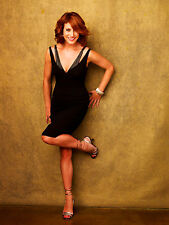 Kate Walsh 8X10 sexy black dress