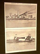 Spedizione Italia Tripolitania Libia nel 1911 Bengasi dopo il bombardamento