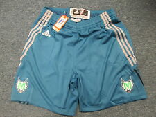 ADIDAS AUTHENTIC WNBA MINNESOTA LYNX REVOLUTION 30 ROAD GAME SHORTS SIZE L
