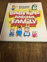 Babykins And His Family by Richard Scarry 1973, Vintage HC