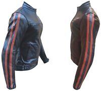 Giacca da Donna per Moto in Pelle femminile NUOVA Protezioni CE Taglia / XXL