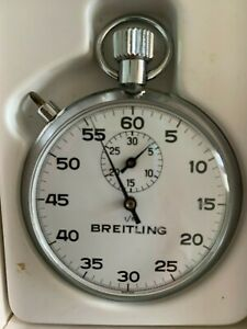 BREITLING SCIENTIC APPARATUS STOPWATCH ALL SWISS MADE WITH ORIGINAL BOX
