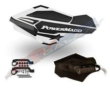 PowerMadd SENTINEL Handguard Guards KIT WHITE W/ ARMOR DS DS650 34408