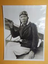 """US 1932 China """"Miss Lindbergh-Leah Hing"""" Real Photo Flying Tiger Member Rare"""
