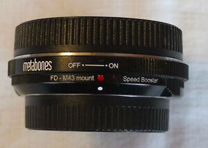 Metabones Speed Booster 0.71X Canon FD to MFT A+ condition