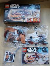 NEW LEGO STAR WARS SET 75173 LUKE'S LANDSPEEDER +DECALS BOX & INS * NO MINIFIGS*