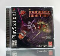 Nanotek Warrior (PlayStation 1 PS1 1997) Complete Clean