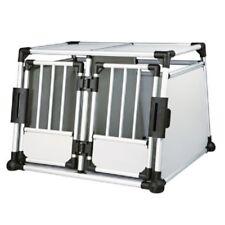 Aluminium Double voiture transport chien voyage Crate