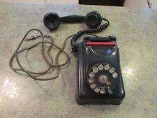 Bakelite Vintage Red Bar KELLOGG 1000 Series Chicago Rotary Dial Telephone Phone