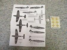 Aviation USK  decals 1/48 Rumania Bf 109E G-4  J112