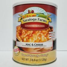 Saratoga Farms Freeze Dried Food Mac & Cheese #10 Can