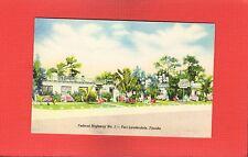Fort Lauderdale,Fl Florida Weldon Motor Court, Apartments & Hotel Rooms w baths