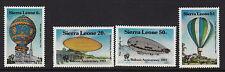 Sierra LEONE:1983 Bicentenario dell' equipaggio di volo sg755-8 Unmounted