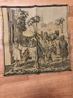 vintage small tapestry runner camels and men