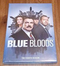 Blue Bloods: The Fourth Season (DVD, 2014, 6-Disc Set) Brand New